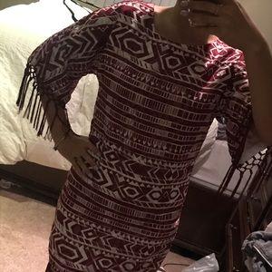 Sam Edelman fringe dress